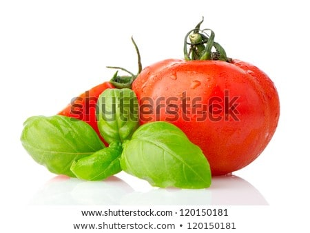 Wheattomato And Basil Foto stock © homydesign
