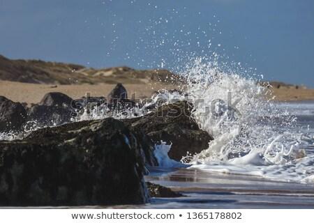 青 · 海 · 海岸 · 水 · 岩 - ストックフォト © dutourdumonde