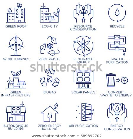 Szabad szolgáltatások zöld vektor ikon terv Stock fotó © rizwanali3d