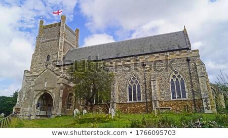 starych · angielski · kościoła · cmentarz · w. · Anglii - zdjęcia stock © jayfish
