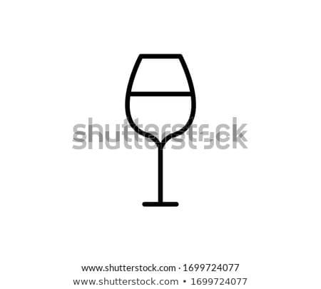 Wineglass Stock photo © nemalo