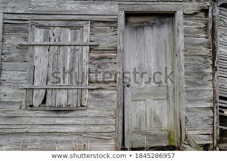 velho · tradicional · porta · edifício · fachada - foto stock © homydesign