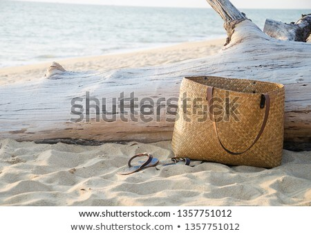 Bag on the beach Stock photo © moses
