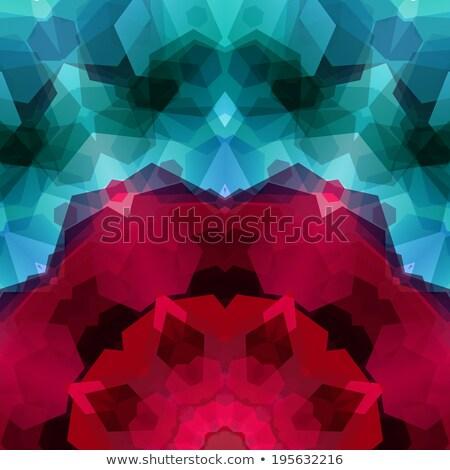 színek · minta · spektrum · poszter · vektor · terv - stock fotó © alevtina