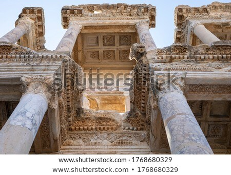 old entrance Ephesus Stock photo © lubavnel