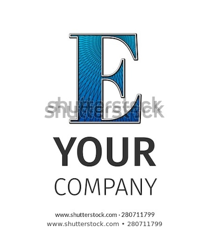 Abstract guilloche Logo, letter-A Stock photo © netkov1