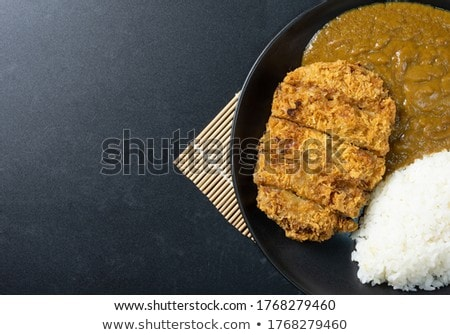 Spicy pork cutlet Stock photo © Digifoodstock