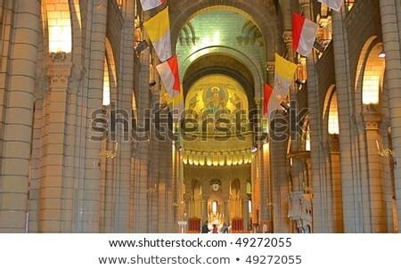 インテリア · 大聖堂 · 光 · 世界 - ストックフォト © vichie81