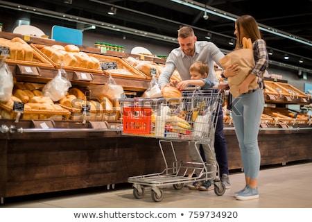 Couple shopping at market Stock photo © photography33