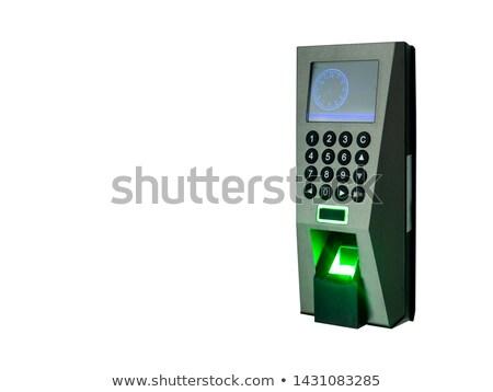 code lock isolated on white stock photo © redpixel