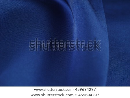 quilted blue fabric Stock photo © mtmmarek