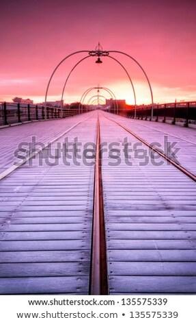 黒白 · 風景 · 画像 · ビーチ · 見える - ストックフォト © jayfish