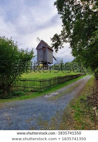 old farm house in the Hessenpark Stock photo © meinzahn