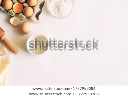 Zucchero cucchiaio bianco legno texture legno Foto d'archivio © nessokv