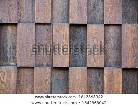 Stock photo: brown wood background