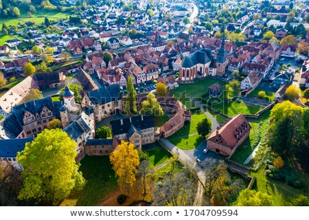 Stock photo: old castle in medieval city of Buedingen