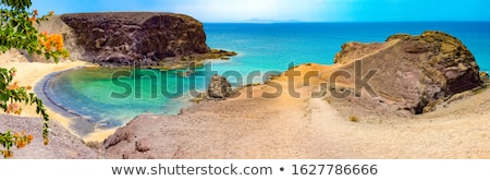 Stock photo: beautiful papagayo beaches