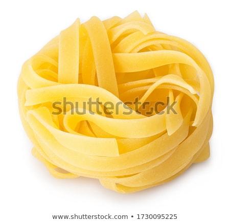 сырой тальятелле Ингредиенты яйцо приготовления Сток-фото © M-studio