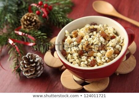Pot geleneksel Noel tatlı yemek Ukrayna Stok fotoğraf © Melnyk