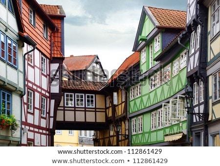 Германия небольшой Венеция дома город окна Сток-фото © borisb17