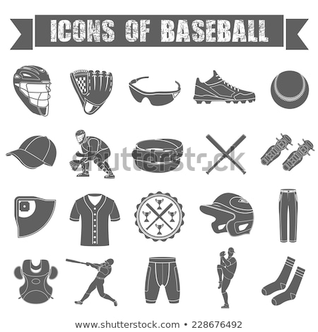 baseball chest protector icon stock photo © angelp
