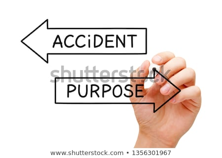 Purpose Or Accident Arrows Concept Stock photo © ivelin