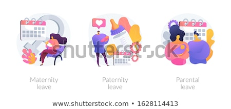 Maternity leave abstract concept vector illustration. Stock photo © RAStudio