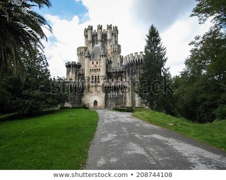 Castle of Butron, Spain Stock photo © Nobilior