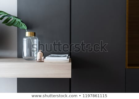 Wood painted wall detail Stock photo © homydesign