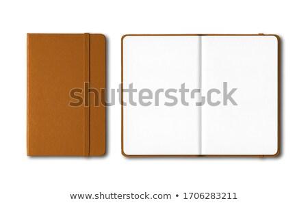 Brown Notebook ストックフォト © Daboost