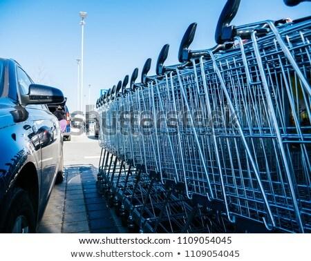 vásárlás · kollázs · képek · fiatal · női · nő - stock fotó © michaklootwijk