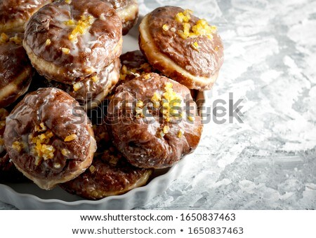 fresh gourmet donuts Stock photo © M-studio