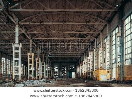 Deserted Hall Stock photo © eldadcarin