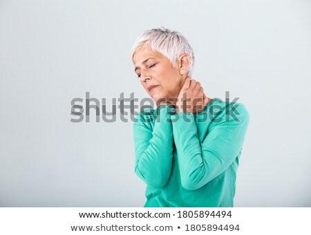 Vrouw lijden pijn vrouwelijke verdriet Stockfoto © wavebreak_media