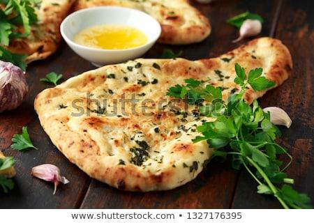 naan bread stock photo © m-studio