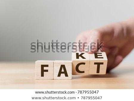 Fake News Concept Stock photo © make
