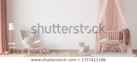 interior of girls room stock photo © bluering