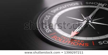 Custom Tailored Solutions or Offers. Made-to measure Services. Stock photo © olivier_le_moal