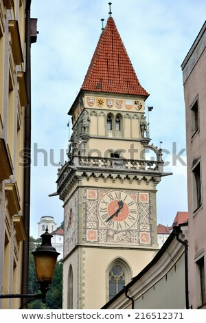 Old Town Hall, Passau Stock photo © borisb17