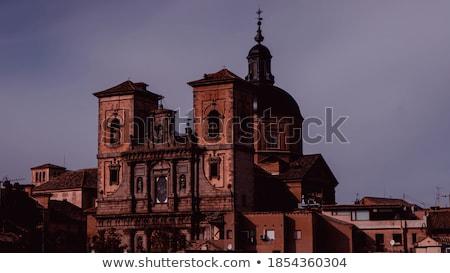 Сток-фото: исторический · центр · Испания · мнение · собора · город