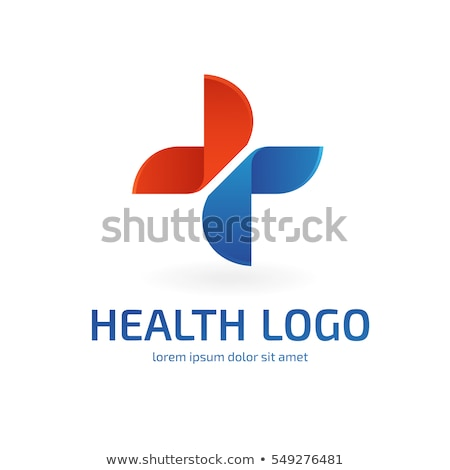 Logo of Medical Cross, Doctor and Heartbeat Vector Stock photo © robuart