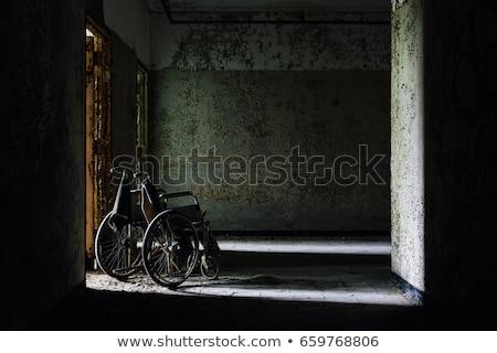 заброшенный больницу старые ржавые Председатель улице Сток-фото © nomadsoul1