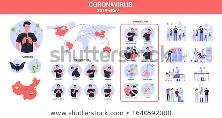 流行 感染 世界的な コンセプト グローバル ストックフォト © Kotenko