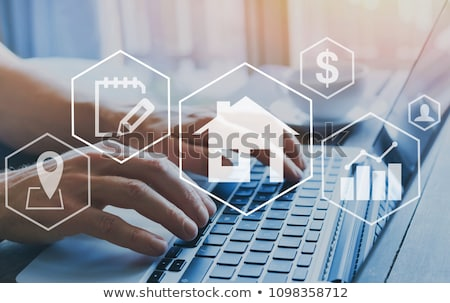 Real Estate Home Property Search Stock photo © AndreyPopov