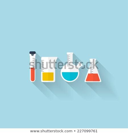 яд бутылку пробирку образец науки медицина Сток-фото © yupiramos