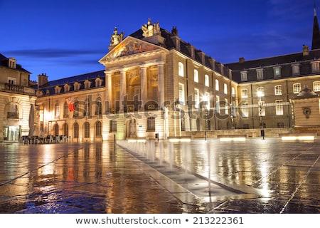 Palazzo Francia centro città pioggia viaggio Foto d'archivio © borisb17