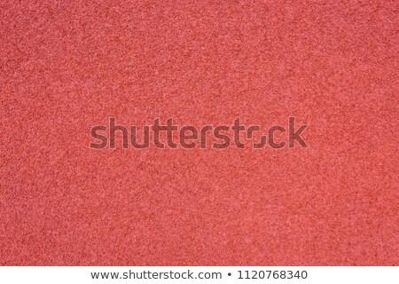 Kırmızı stadyum çalışma doku soyut Stok fotoğraf © boggy