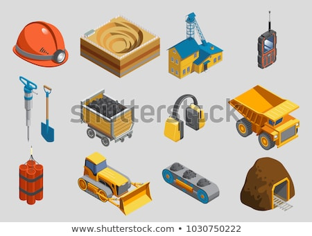Dynamite Tool isometric icon vector illustration Stock photo © pikepicture