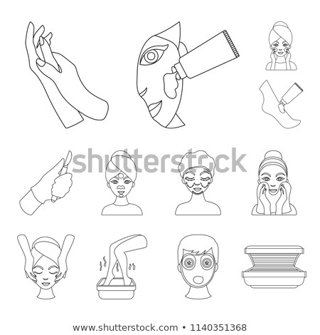 Washing a bowl by hand Stock photo © rcarner