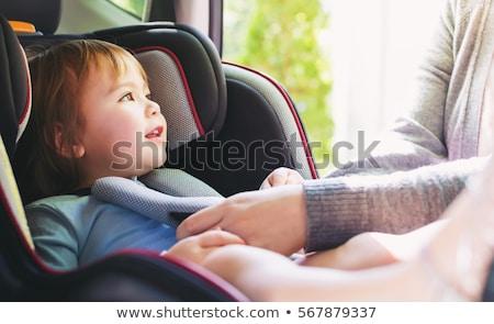 Criança carros feliz infeliz corrida carro Foto stock © sahua